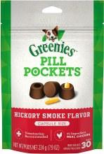 Greenies Pill Pockets Treats Hickory Flavor for Capsules 7.9oz