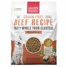 Honest Kitchen Dog Grain Free Whole Food Clusters Beef Recipe 20lb