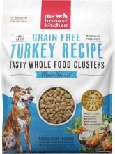 Honest Kitchen Dog Grain Free Whole Food Clusters Turkey Recipe 20lb