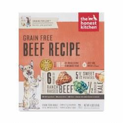 Honest Kitchen Dog Dehydrated Grain Free Beef Recipe (Love) 4lb