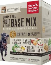 Honest Kitchen Dog Dehydrated Grain Free Fruit and Veggie Base Mix (Preference) 7lb