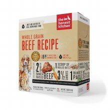 Honest Kitchen Dog Dehydrated Whole Grain Beef Recipe (Verve) 2lb
