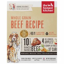 Honest Kitchen Dog Dehydrated Whole Grain Beef Recipe (Verve) 10lb