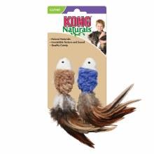 Kong Cat Naturals Crinkle Fish 2 Pack