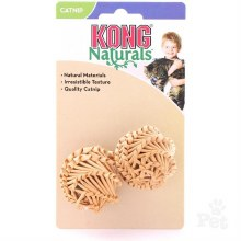 Kong Cat Naturals Straw Ball 2 Pack