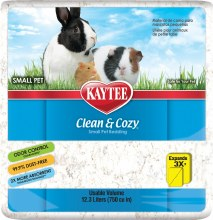 Kaytee Clean and Cozy Bedding in White 750 cu. in.