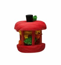 Kaytee Wooden Carousel Apple Chew Toy Small