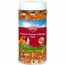 Kaytee Papaya, Peanuts, and Mango Treat for All Pet Birds 10oz