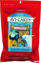Lafeber Classic Avi-Cakes for Macaw and Cockatoo 1lb