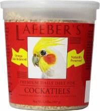Lafeber Premium Daily Diet Cockatiel Pellets 1.25lb