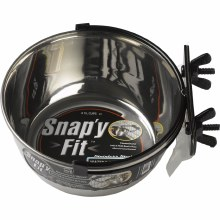 Midwest Snap'y Fit Dog Bowl 1 quart