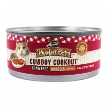 Purrfect Bistro Grain Free Morsels Cowboy Cookout 5.5oz