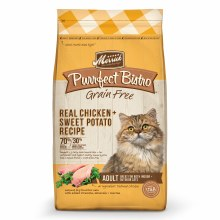 Purrfect Bistro Grain Free Real Chicken and Sweet Potato Recipe 7lb