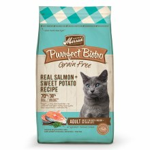 Purrfect Bistro Grain Free Real Salmon and Sweet Potato Recipe 12lb