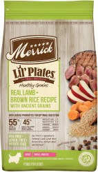 Merrick Lil' Plates Real Lamb and Brown Rice with Ancient Grains 4lb