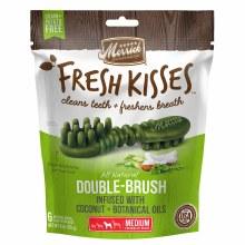 Merrick Fresh Kisses Coconut Oil Dental Treats for Medium Dogs 6 Pack 6oz