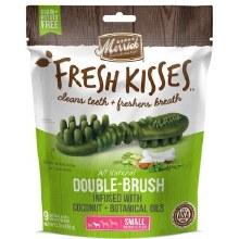 Merrick Fresh Kisses Coconut Oil Dental Treats for Small Dogs 9 Pack 5.5oz