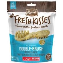 Merrick Fresh Kisses Mint Breath Strips for Medium Dogs 6 Pack 6oz