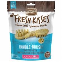 Merrick Fresh Kisses Mint Breath Strips for Small Dogs 9 Pack 5.5oz
