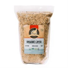 Scratch and Peck Naturally Free Organic Layer Feed 16% for Chickens and Ducks 10lb