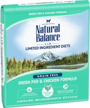 Natural Balance Adult Cat Grain-Free Chicken and Pea Formula 10lb