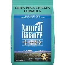 Natural Balance Adult Cat Grain-Free Chicken and Pea Formula 2lb