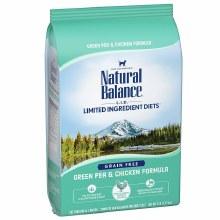 Natural Balance Adult Cat Grain-Free Chicken and Pea Formula 5lb