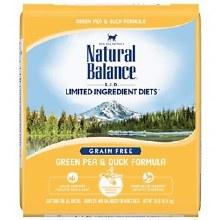 Natural Balance Adult Cat Grain-Free Duck and Pea Formula 10lbs