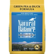 Natural Balance Adult Cat Grain-Free Duck and Pea Formula 2lb