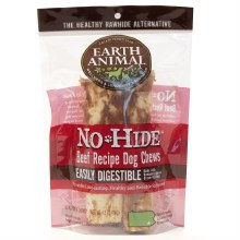 No-Hide Beef Wholesome Chews Medium 2 Pack