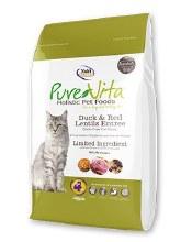 PureVita Cat Grain-Free Duck and Lentils Entree 15lb