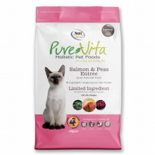 PureVita Cat Grain-Free Salmon and Peas Entree 6.6lb