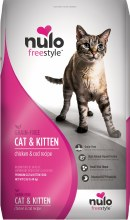 Nulo Cat and Kitten Grain Free Freestyle High-Meat Kibble Chicken and Cod 12lb