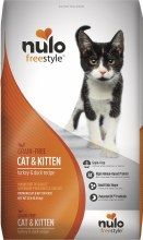 Nulo Cat and Kitten Grain Free Freestyle High-Meat Kibble Turkey and Duck 12lb