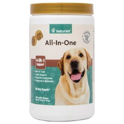 NaturVet All-In-One Soft Chews 120ct