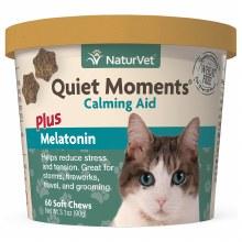 NaturVet Quiet Moments Cat Soft Chew 60ct