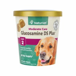 NaturVet Glucosamine DS Plus Level 2 Soft Chews 70ct