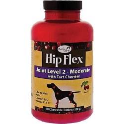 NaturVet Overby Farm Hip Flex Level 2 Tablets 60ct