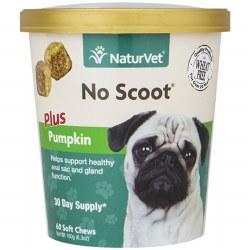 NaturVet No Scoot Soft Chew 60ct