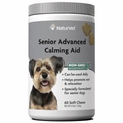 NaturVet Senior Advanced Calming Aid Soft Chews 60ct
