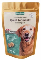 NaturVet Quiet Moments Senior Wellness Calming Aid Soft Chews 65ct