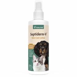 NaturVet Septiderm-V Skin Care Spray Lotion 8oz