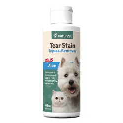 NaturVet Tear Stain Topical Remover 4oz