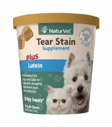 NaturVet Tear Stain Supplement Soft Chews 70ct
