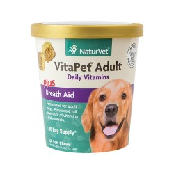NaturVet VitaPet Adult Daily Vitamins Soft Chews 60ct