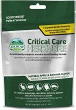 Oxbow Critical Care Herbivore Apple Banana Supplement 4.97oz