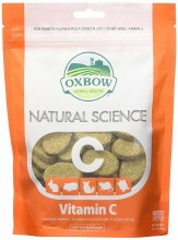 Oxbow Natural Science Vitamin C Supplement 60 Count