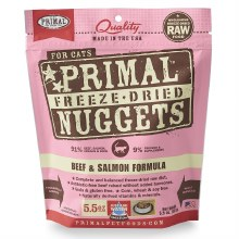 Primal Cat Freeze-Dried Beef and Salmon Formula 5.5oz