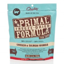 Primal Cat Freeze-Dried Chicken and Salmon Formula 5.5oz