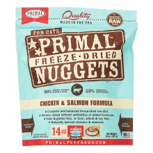 Primal Cat Freeze-Dried Chicken and Salmon Formula 14oz